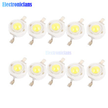 10PCS 1W LED High power Lamp beads Pure White 300mA 3.2-3.4V 100-120LM 30mil