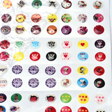 330pcs Love Cute Cartoon Rubber Home Button Sticker for iPhone 4 4s 5G ipad 2 3 Fashion Popular Cellphone Button Stickers Hot