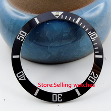39.8mm black ceramic bezel insert for sub watch made by parnis factory(China)