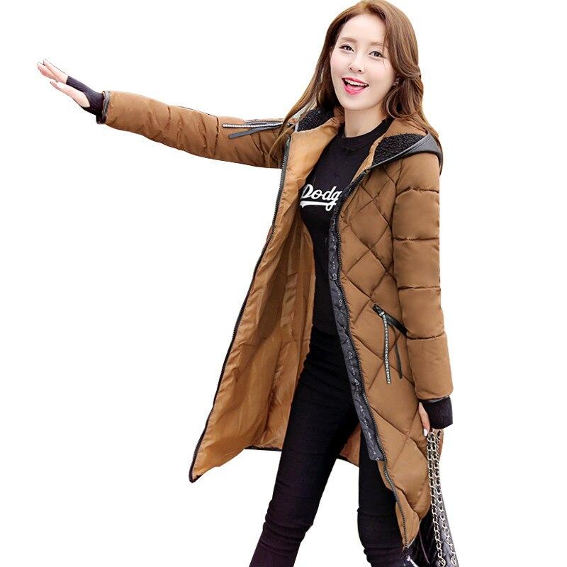 Thicken Parka Winter Jacket Women With Gloves Down Cotton Coat Hooded Long Parkas Jaqueta Feminina Inverno Female Jackets C3491Îäåæäà è àêñåññóàðû<br><br>