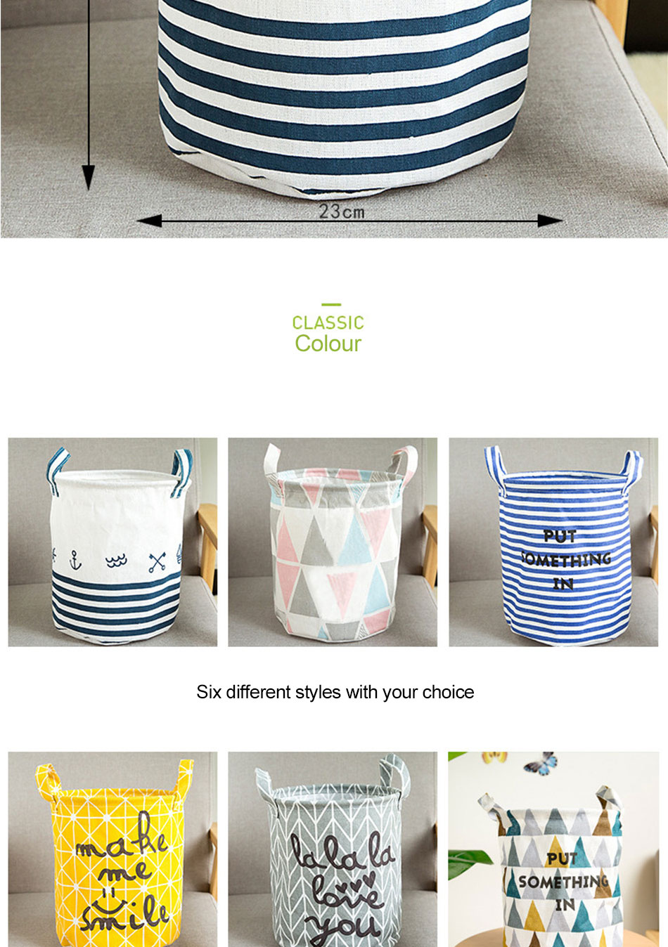 Storage Baskets Folding Laundry Basket Yellow Arrow Couple Linen Washing Clothes Barrel Bags With Handles Kids Toys Hamper Bag (3)
