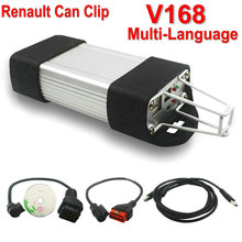 Latest version V168 For Renault Can Clip Diagnostic Interface Auto Diagnostic Tool For Renault Clip Scanner