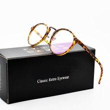 2019 Optical Lens Retro Glasses Women Myopia Eyeglasses Frames Trend Round Spectacles Clear Lenses Women's Glasses Top