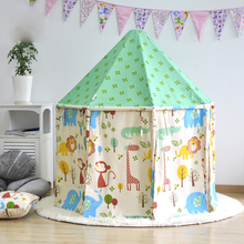 children's tent princess game houses  kids play tent  children tent toy doll's house  play house gree  color