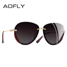 AOFLY BRAND DESIGN 2018 Polarized Sunglasses Women Fashion Retro Vintage Glasses UV400 Shades Gafas de sol A108(China)
