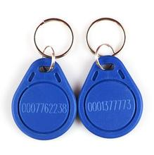 RF proximity EM card key fob,125kHz 3# tags,size:41X32X4 mm, shape card,keyfob tags, +min:1pcs(China)