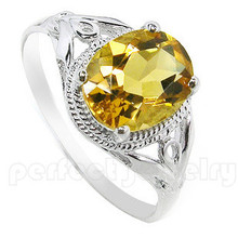 Citrine ring Free shipping Natural citrine ring 925 sterling silver Gem size 7*9mm 1.75CT gem Fine yellow crystal jewelry