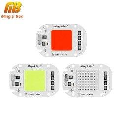 Светодиодный COB чип 110 В 220 В 20-50 Вт