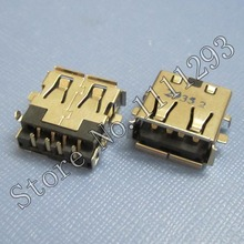10pcs/lot 2.0 USB Jack Socket Connector for Asus UL30A UL30JT UL30VT U31J U35JC etc Laptop USB Port