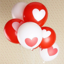 2016 Brand New Happy Time Love Heart Thicker Matte Balloons Birthday Party Wedding Decor Balloons 10pcs