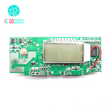 Dual USB 5V 1A 2A 2.1A Mobile Power Bank Charger Board DIY 18650 Battery Charge PCB Step Up Boost Power Module LCD Digit Display