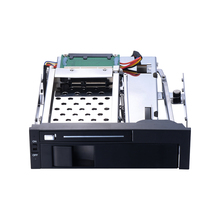 5.25 inch internal hot plug hdd mobile rack for optical bay support 2.5 inch +3.5 inch HDD without USB3.0 port