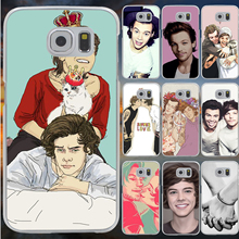 Styles one direction harry styles Hard Case Transparent Cover Galaxy S2 S3 S4 S5 & Mini S6 S7 S8 Edge Plus - Lavaza ShenZhen Good Co Store store