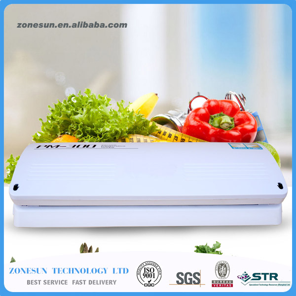 95W Electric Vacuum Heat Sealing Machine Household Food Packing Sealers Kitchen Appliances Food Saver Preserver + 10 bags<br><br>Aliexpress