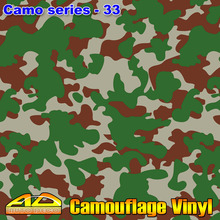Hot-sale Camo Film Vinyl Camouflage Wrap Car Color Transform Sticker Foil Sheet With Air Channel FedEx Free Shipping 30m/roll