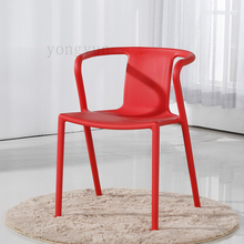 Leisure Plastic Chair Coffee Dining Modern Office Stoel Dining room furniture Plastic Modern Replica Jasper Morrison Chairs