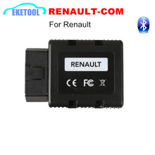 NEW RENNAULT-COM Renault COM Bluetooth Interface For Renault Car Replace of Renault Can Clip Auto Diagnostic Programming Scanner(China)