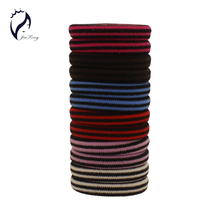 Buy 50pcs/lot 4cm Elastics Rubber Bands Striped Colored 2016 New Fashion Hair Holders Women Girl's Accessories Tie Gum Mix Color for $2.61 in AliExpress store
