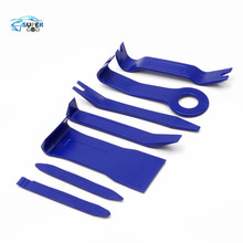 7pcs Hard Plastic Auto Car Radio Panel Interior Door Clip Panel Trim Dashboard Removal Opening Tool Set DIY Car Repair Tool Kit(China)