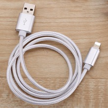 Buy USB Charger Nylon Braided Cable Lightning Fast Charging Data Sync Mobile Phone Cable iPhone for $1.16 in AliExpress store