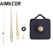 Quartz Gold Clock Movement Mechanism Hands DIY Repair Replacement 100% brand new and high quality drop shipping Sep19