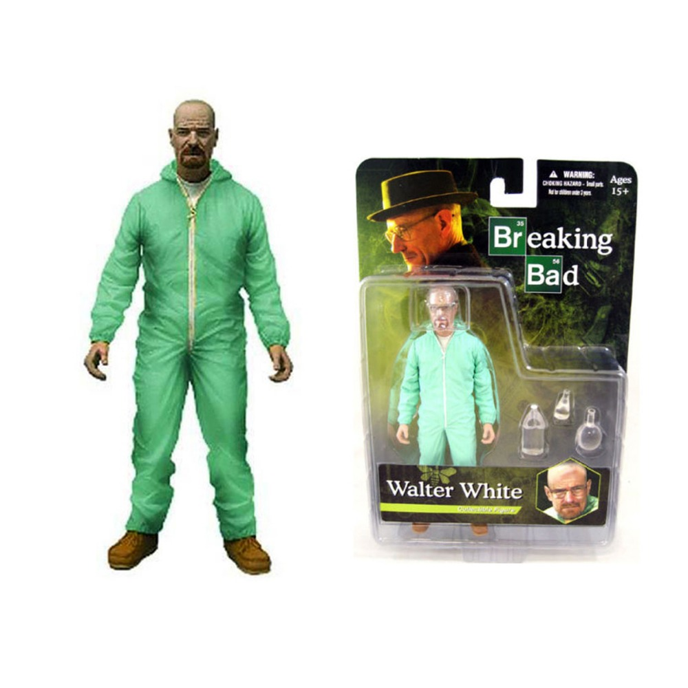 Mezco Breaking Bad Walter White Heisenberg Collectible 16cm/6.3 Action Figure Free Shipping<br>