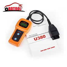 2017 U380 OBD2 OBDII EOBDII Memo Scanner Auto Device Car Scanner Trouble Code Reader Diagnostic Tool + FS(China)