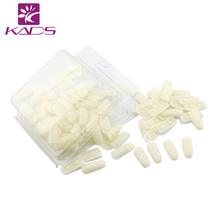 KADS 100PCS/PACK Splastic nail tips for practice use Practice display Training Nail Art False Tips Display Training Tool
