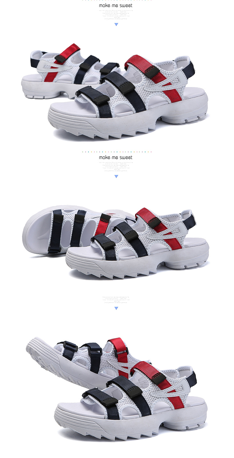 Sandals Men's Beach Shoes Summer Sports Korean Version Of The Trend Increase Big Sandals And Slippers Summer Boys Tide 27 Online shopping Bangladesh