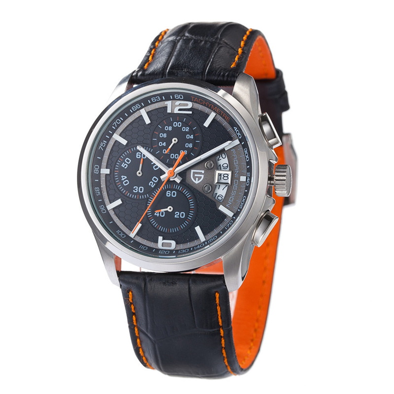Leather Mens Watch Luxury Watch Birthday Gift to Husband Or Father reloj hombre Relogio Masculino Mens Sports Watches Clock Men<br><br>Aliexpress