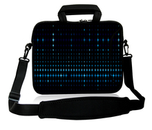 "10""13""14""15""17""Computer Shoulder Messenger Pouch Twinkle Star Design Neoprene Laptop Handle Sash Sling Cover Bag For  Acer Sony"