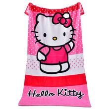 Mini Hello Kitty Microfiber Bath Towel travel sport wrap hair Beach towels face hand cooling towel adults kids gift 2017