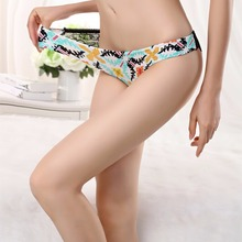 Buy Plus size Underwear Women Panties Briefs Female Underpant Sexy Lingerie Lace Cotton String Big Size Underpants Girl Panty