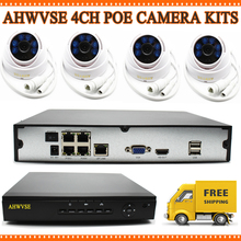 Buy IP Camera Video Security Surveillance System PoE NVR Recorder System Kit Standalone Camera System 4CH PoE NVR CCTV System for $341.99 in AliExpress store