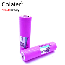 2PCS Colaier for Samsung 18650 3000mAh battery lithium battery INR18650-30Q powered rechargeable battery