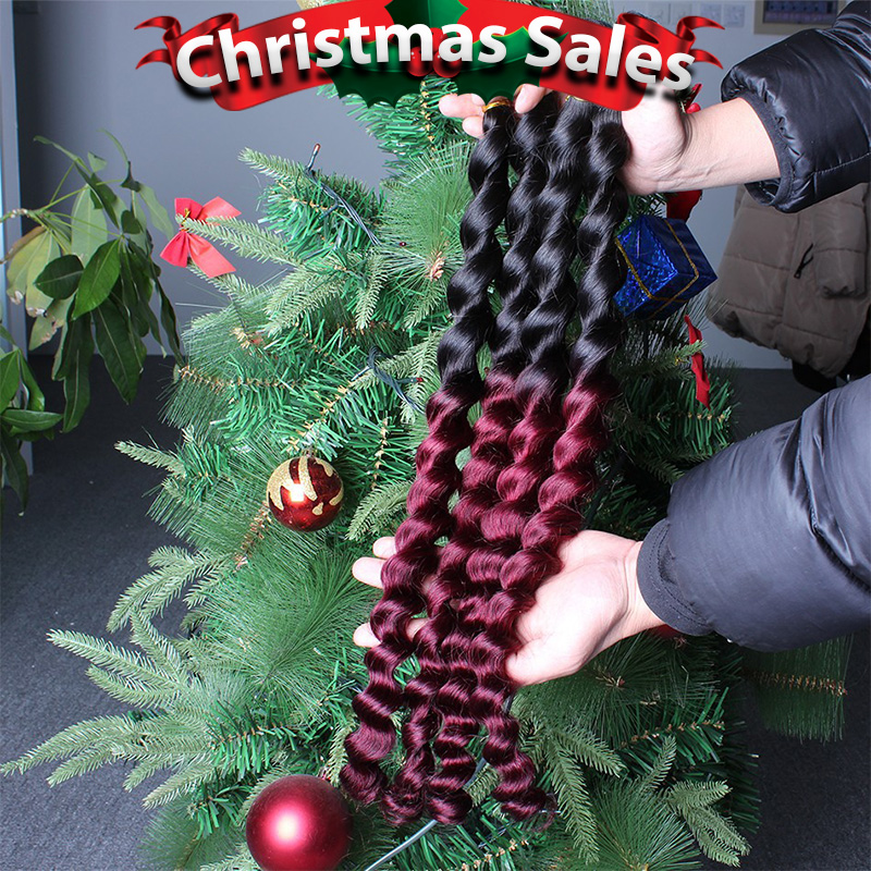 4 Pcs Lot  Brazilian Loose Wave Ombre Virgin Hair Extensions 1B/Burgundy 6A Grade Brazilian Ombre Hair Loose Wave Hair Weaves<br><br>Aliexpress