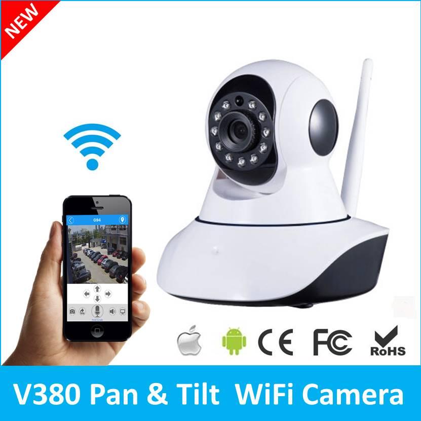 V380 Mini IP Camera  HD 720P Video Surveillance CCTV System P2P Pan&amp;Tilt  Wi-Fi Hotspot  Intercom Baby Monitor  Q5<br>