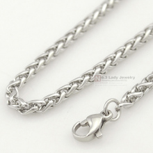 GOKADIMA Stainless Steel Chain Necklace for men or women Jewelry Accessories, Wholesale Free Shipping