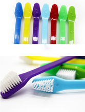 200pcs/lot Pet Toothbrush  Lovely Grooming Dual End  Pet Dog Puppy Cat Small Animals Toothbrush