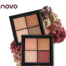 NOVO Infinite Charm N Shape 4 Color Matte Shimmer Eyeshadow Palette Professional Naked Makeup Smoky Shining Eye Shadow Cosmetics(China)