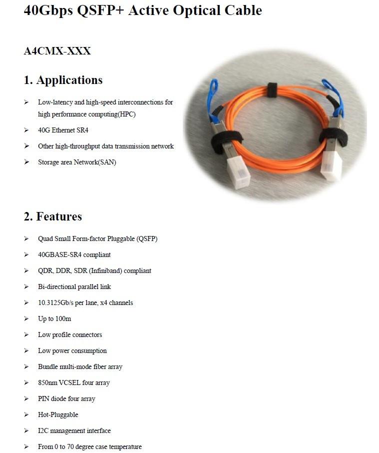 40Gbps QSFP+ AOC (1)