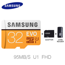 Buy SAMSUNG Memory Card EVO MAX Read Speed 95M/s Micro SD 64GB 32GB Class 10 MicroSD Card C10 UHS-I Trans Flash MicroSD Card gift for $6.23 in AliExpress store