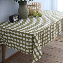 CITYINCITY Cartoon Lovely Hedgehog Animal Tablecloth Cotton Printed Rectangular For Home Party Wedding Decoration Customized(China)
