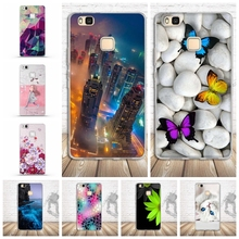 2017 Soft TPU Protector Case For Coque Huawei Ascend P9 Lite Case Silicon Back Cover For Fundas Huawei P9 Lite Phone Case Capa