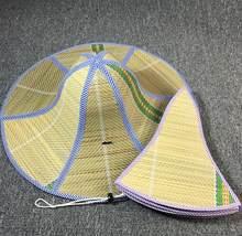 486cc405be25b Agricultor Strawhat Protetor Solar Dobrável Chapéu de Sol Das Mulheres dos  homens Quentes Homens Verão Chapéu de Palha Grande Ab..