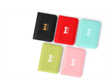 Lovely Small Package Simple Ultra-Thin Card Korea Women's Bank Credit Card Bus Card Card Card Bag Clip 038 ZHCHENG