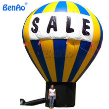 DGB01 26ft / 8m Advertising cold Air inflatable OXford Ground Balloon Custom + Repair Kits + Blower Prompt Delivery(China)