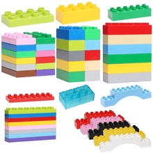 Basics Bricks 8 12 16 dots Set Assemble Big Particles Building Blocks supplement DIY accessory Gifts Toys Compatible Duplo - Shop3093093 Store store