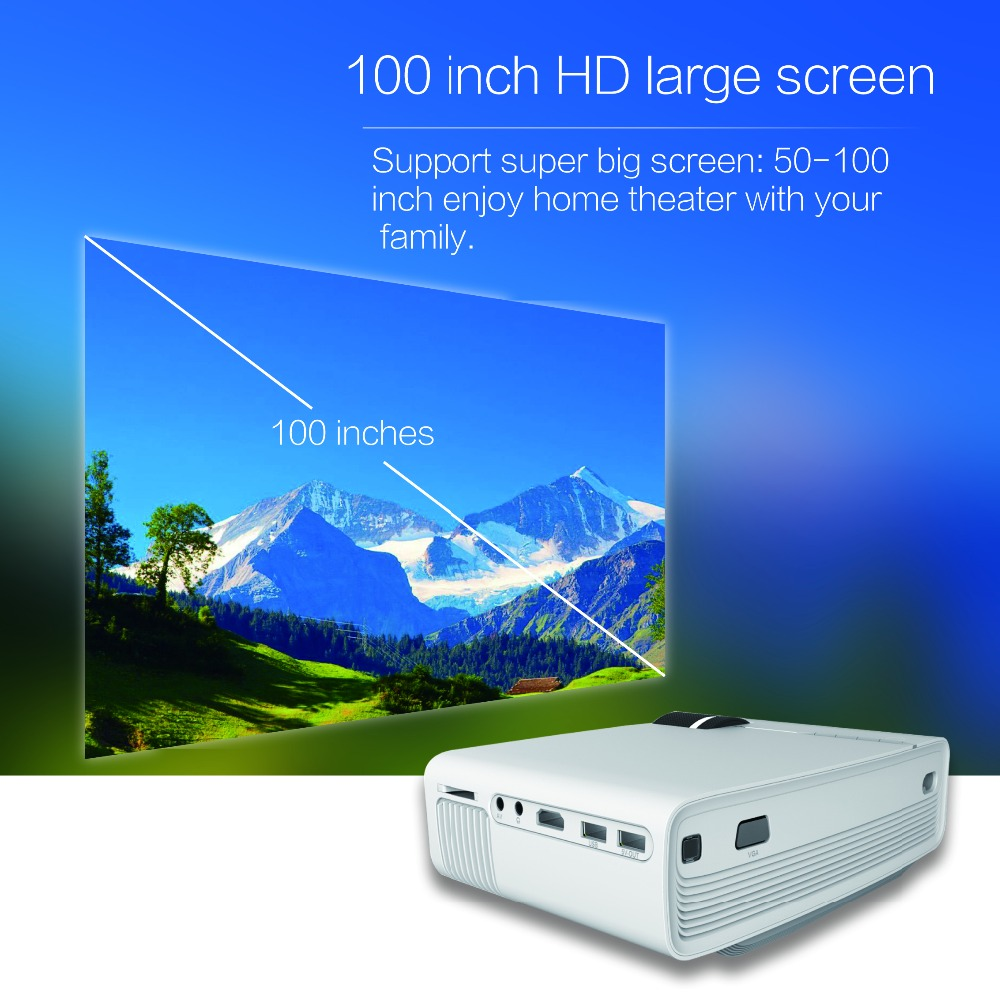 Yg400 Mini Led Projector  (5)