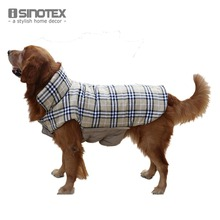 British Style Pet Clothes Jacket Dog Clothing Fall/Winter Coat For Cats Repellent Winter Apparel(China)